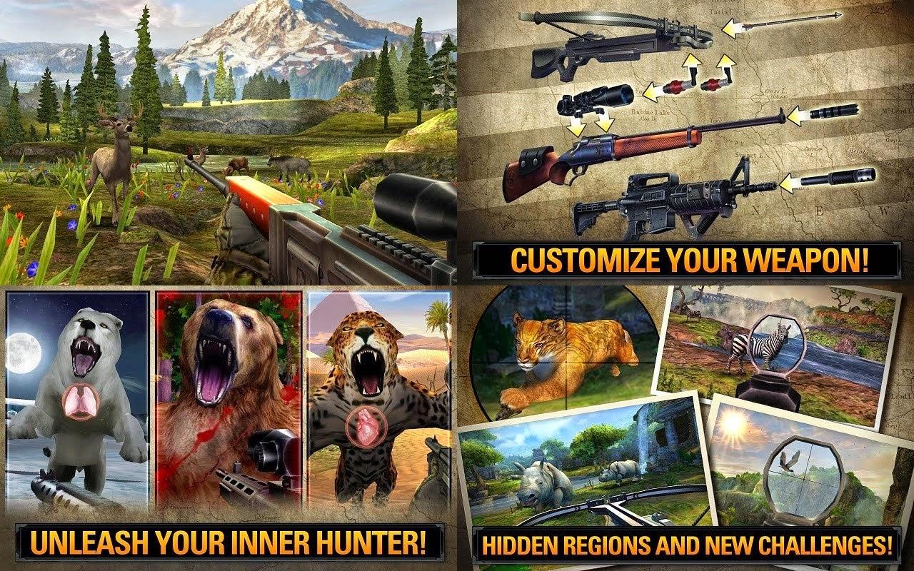 Deer Hunter 2014 v2.2.0 Mod Apk (Sınırsız Glu Parası)