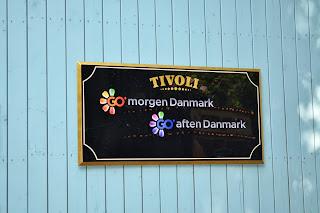 Tivoli garden copenhagen