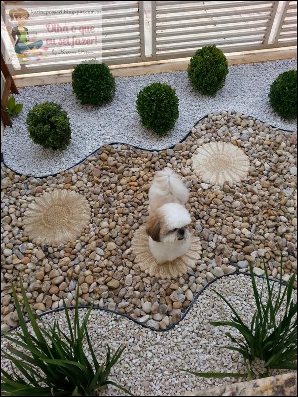 pedras jardins pequenos : pedras jardins pequenos:Jardim de Pedra – Olha o que eu sei fazer!