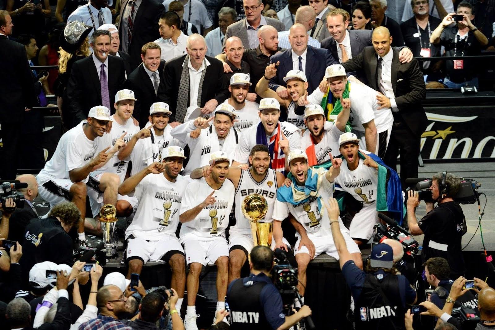 San Antonio Spurs campeón de la NBA (FOTOGALERÍA)