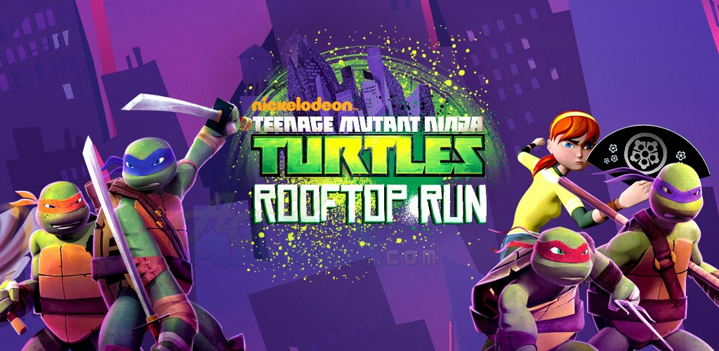 TMNT: ROOFTOP RUN v1.0 APK + SD