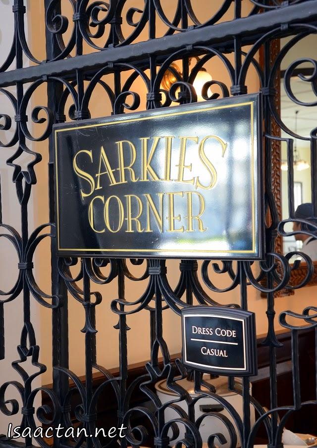 Sarkies Corner @ E&O Hotel Penang