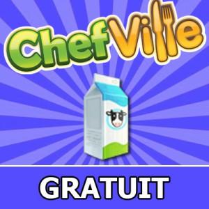 lait chefville 300x300 Facebook Hile Chefville 1 Bedava Süt
