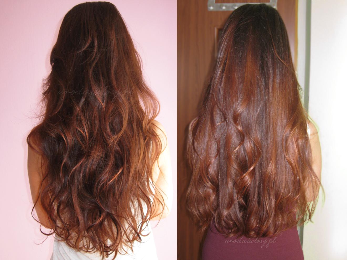 włosy cieniowane czy ścięte na prosto?
