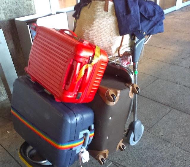 au pair suitcases