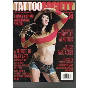 Tattoo Society Magazine - Limited edition a Nightmare Special