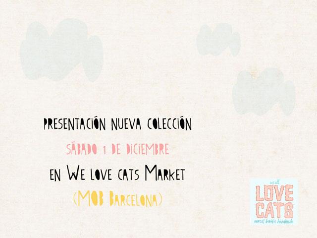 handmade we love cats market mercadillo artesania