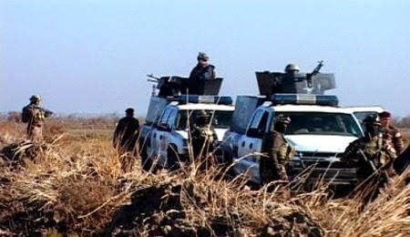 مقتل ثلاثة جنود عراقيين وسائق اجرة شمال تكريت علي يد مسلحون