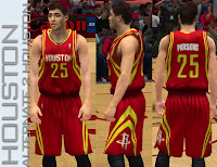 NBA 2K13 Houston Rockets Alternate 2 Jersey (HOUSTON)