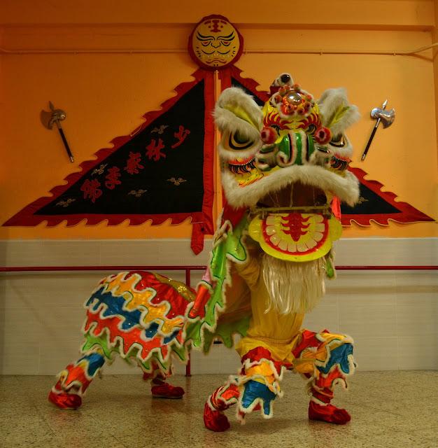 Danza del León, Año Nuevo Chino
