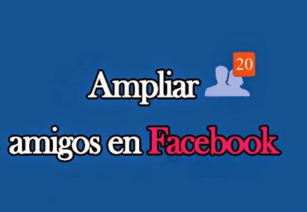 nuevos amigos facebook