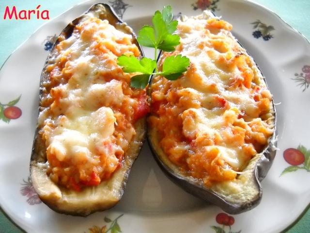 Amaranto hoy bacalao vegetariano estilo m xico - Berenjenas rellenas de bacalao ...