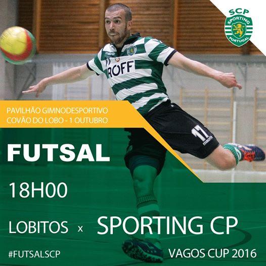 Futsal do Sporting visita Vagos