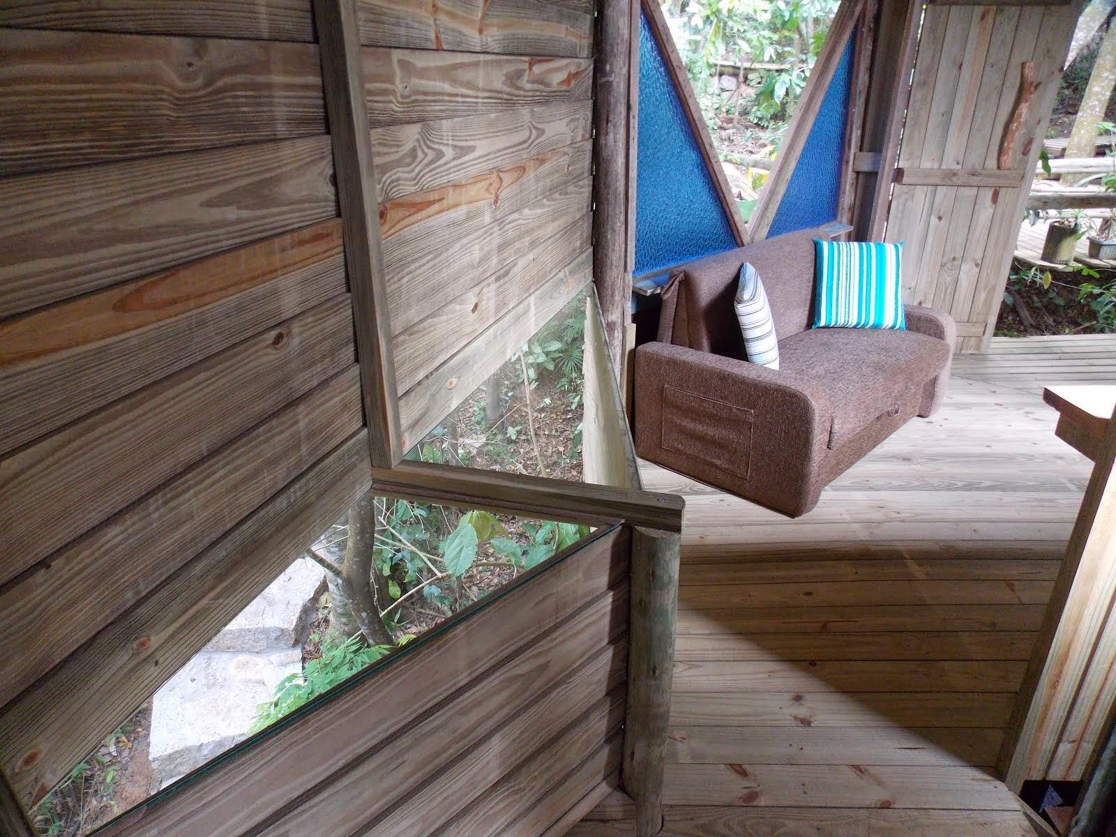 Prateleira de vidro cabana 4