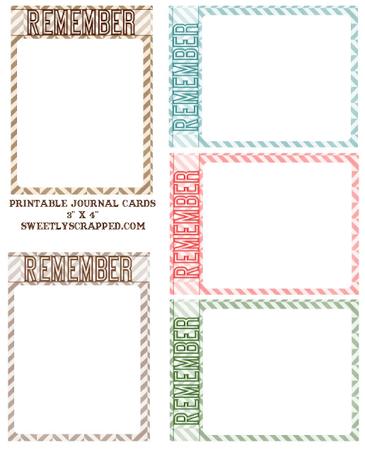 Hilaire image within printable journaling cards