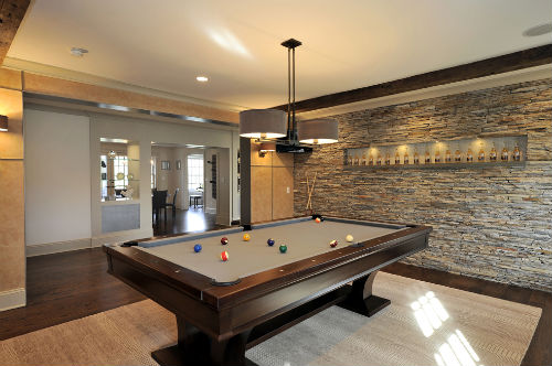 Edgewater design blog accent walls - Stone accent wall living room ...