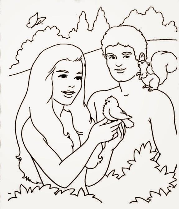 Imagenes Cristianas Para Colorear: Dibujos Para Colorear De La Creacion
