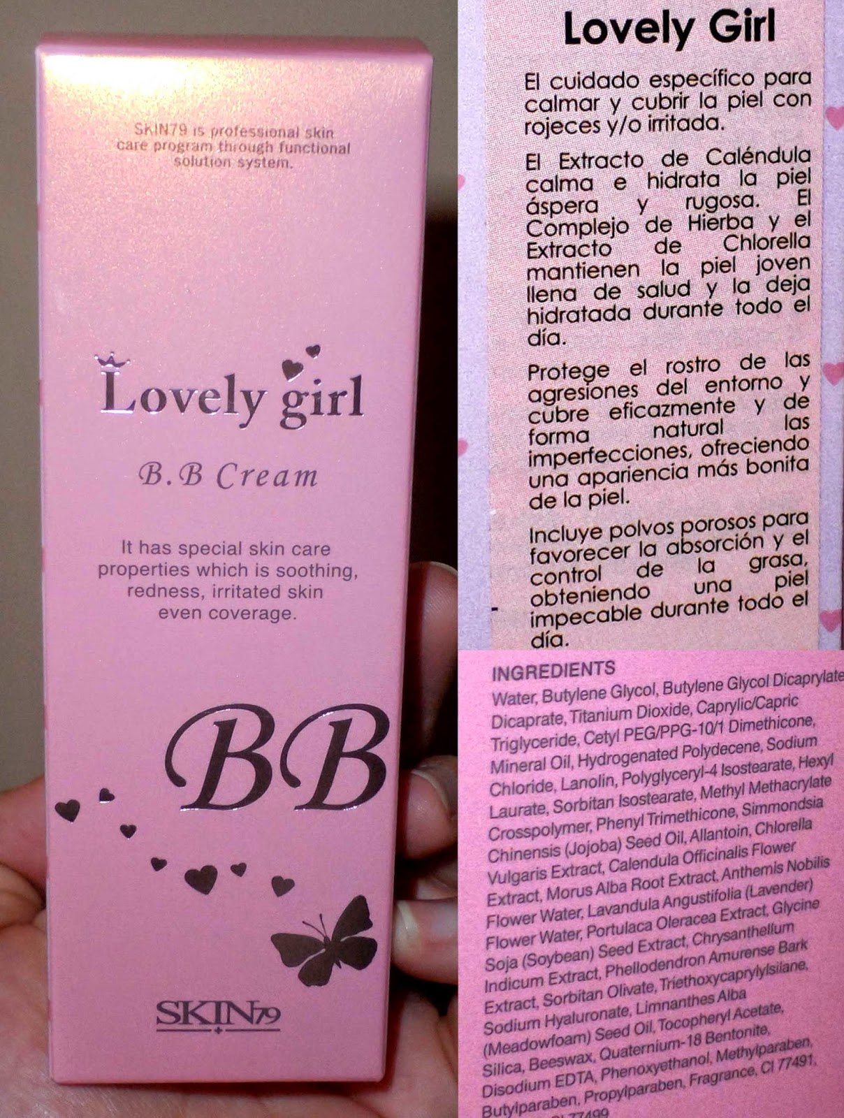 skin79 bb cream lovely girl