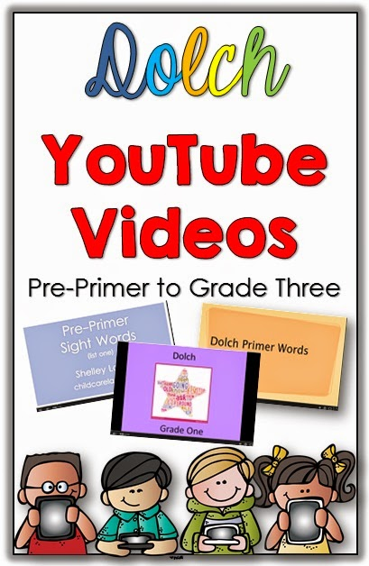 Tracking Reading Fluency with Games and a FREEBIE plus Dolch YouTube videos