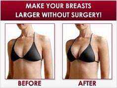 How to make your breasts bigger without unpleasant scars