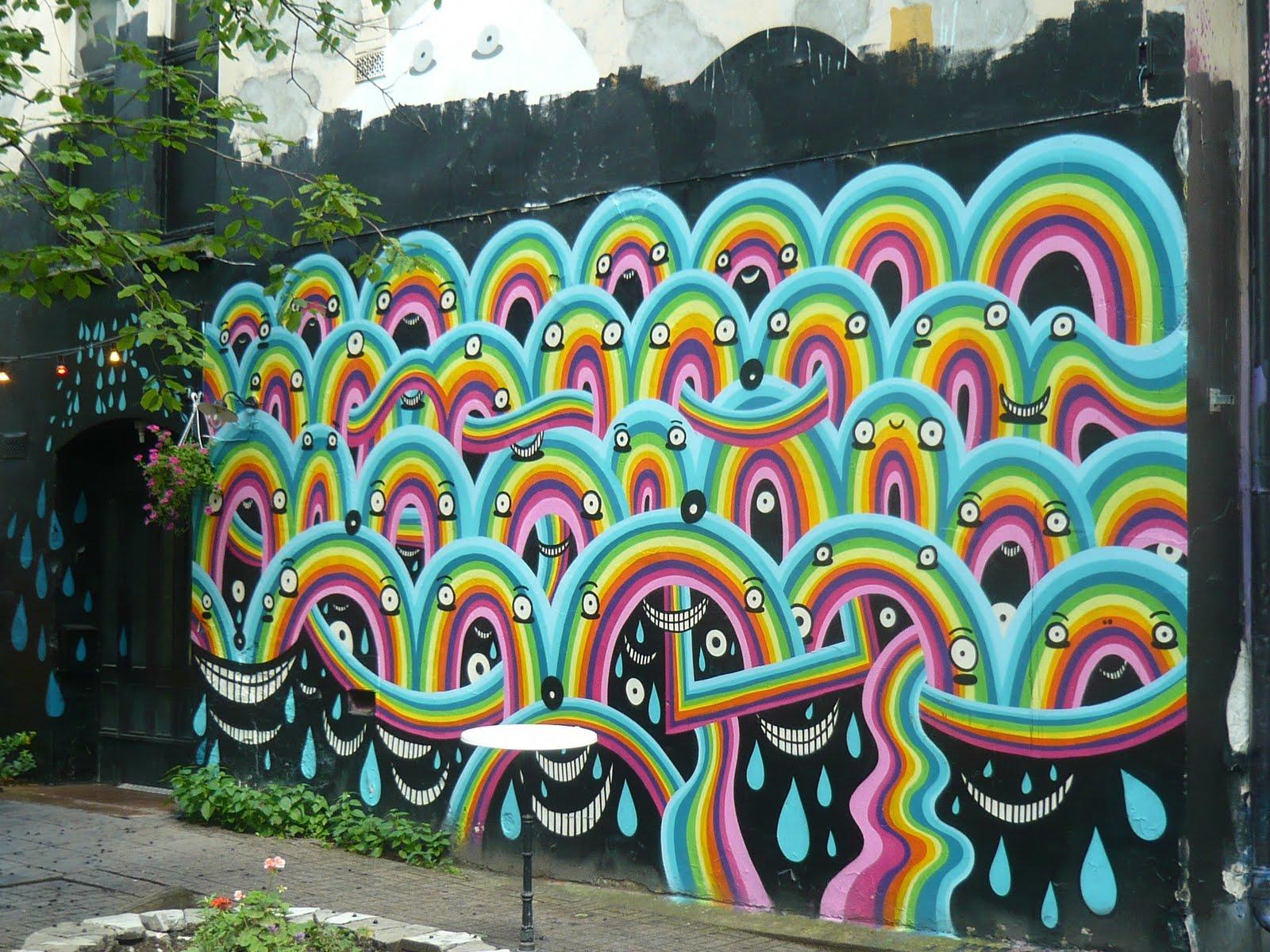 Grafitti art oslo - Oslo Street Art