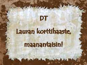 Lauran korttihaasteen DT-nappi