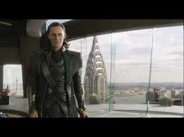 Loki os Vingadore - diálogo entre Loki e Tony Stark (Homem de Ferro.)