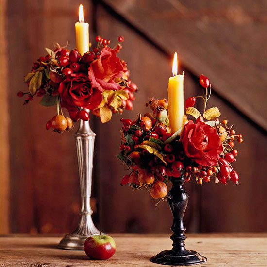 Perception In Print Elegant Thanksgiving Centerpieces
