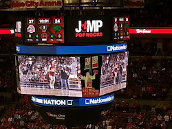 Pop Rocks on the Jumbotron!