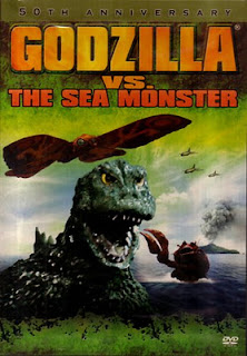 Godzilla vs. The Sea Monster DVD cover and Amazon link