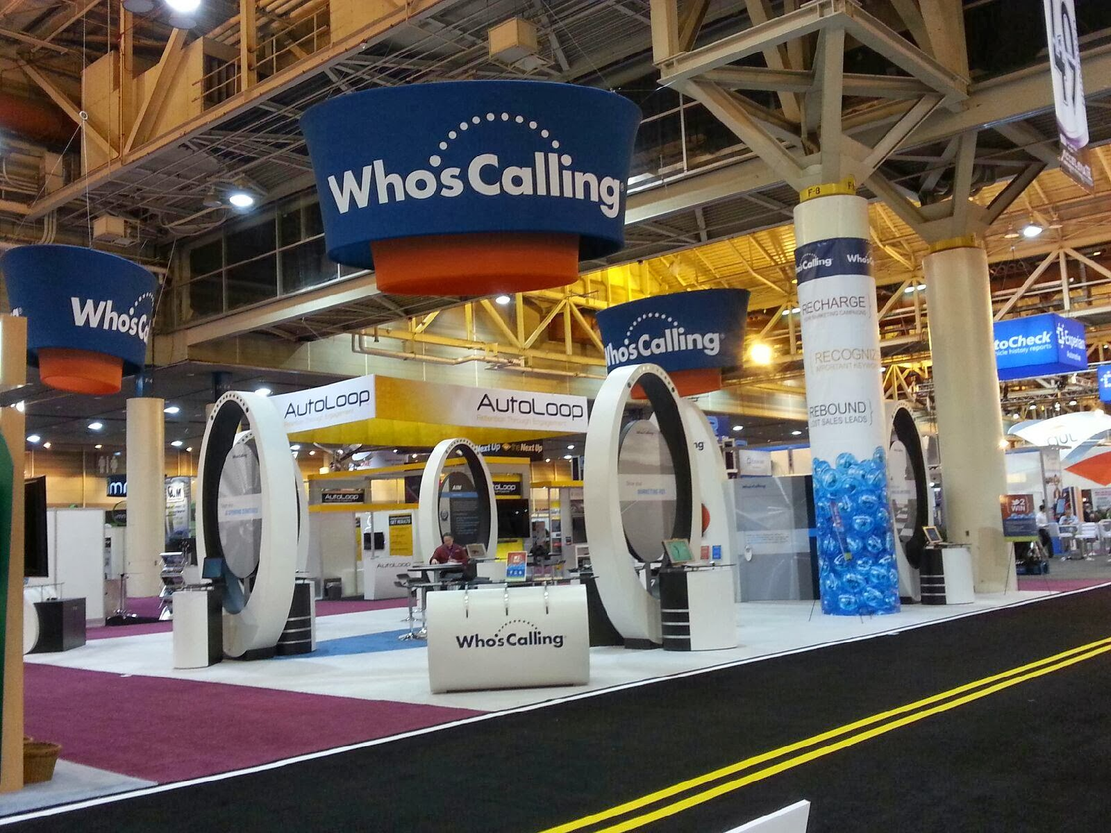 Who's Calling NADA 2014 booth
