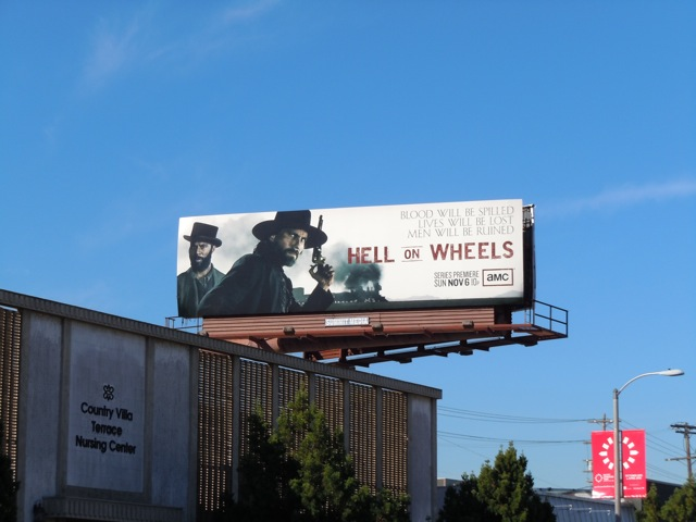 Hell on Wheels AMC billboard