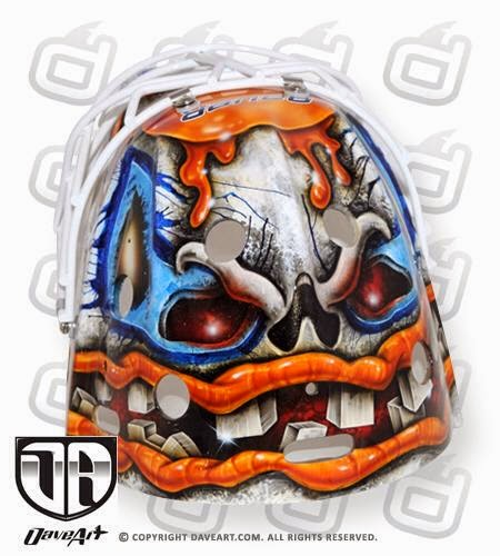 I Love Goalies!: Viktor Fasth 2014-15 Mask