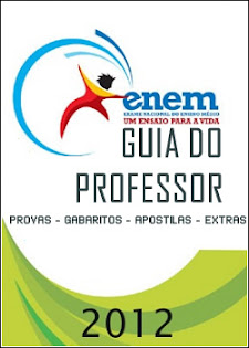 Capa do Enem 2012: Guia do Professor Provas + Leituras + Extrasapostilas