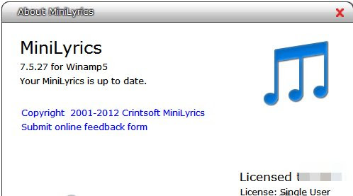 Free Minilyrics 7.5.27 Full Loader Crack - Soft Download Free Full Version