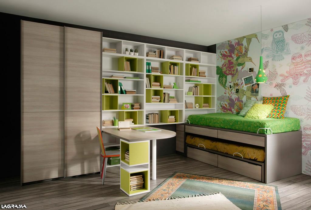 Dormitorios juveniles aire de lagrama for Diseno de muebles dormitorios juveniles