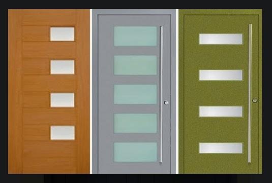 warna cat pintu rumah minimalis