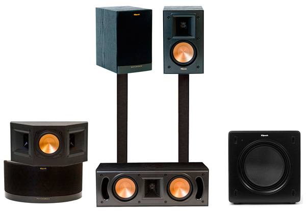 klipsch reference rb 41 system. Black Bedroom Furniture Sets. Home Design Ideas