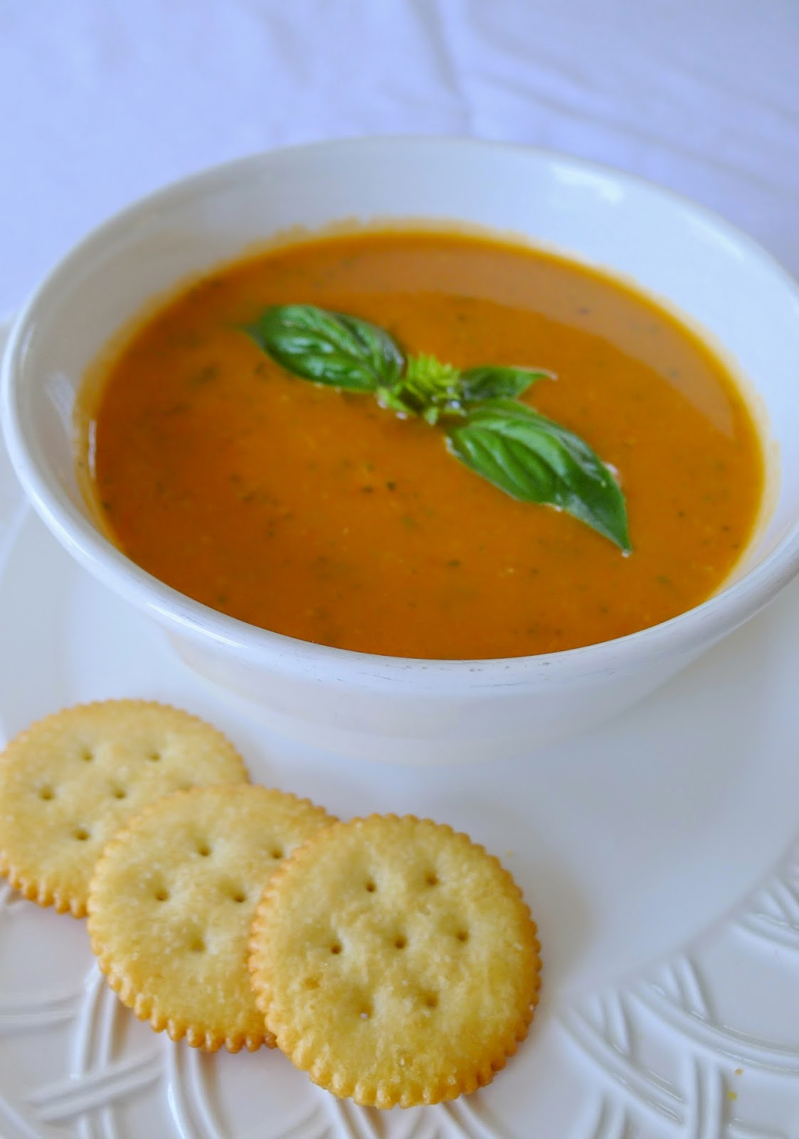 Roasted Tomato and Zucchini Soup, recipes