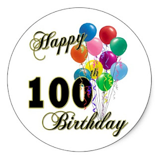 100th birthday gifts cards