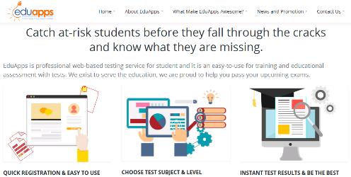 Gambar Beranda Situs EduApps - Kepowan