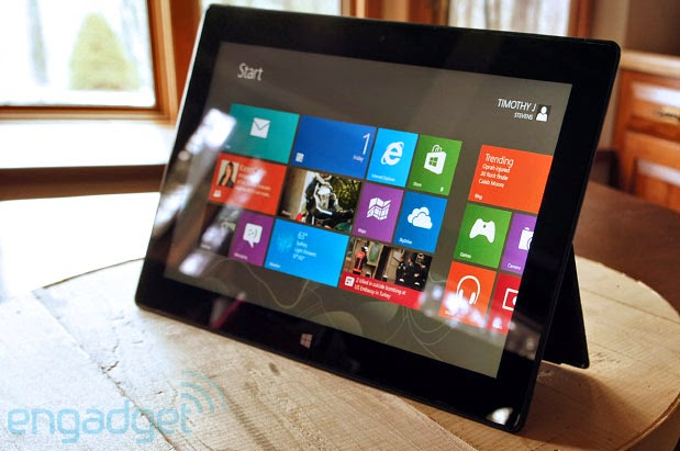 Best Tablet Microsoft Surface in 2014 1