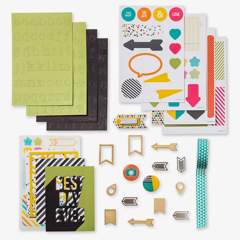 Project Life by Stampin' Up! Everyday Adventure is now available in the UK - get it here