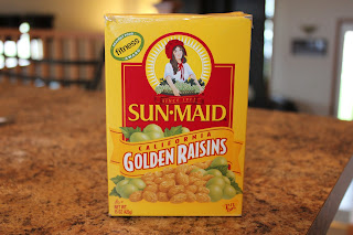 Golden Raisins - yum!