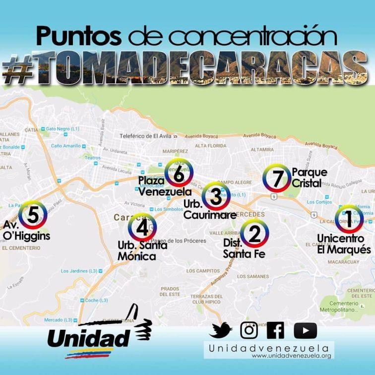 Puntos de Encuentro #1S Toma De Caracas