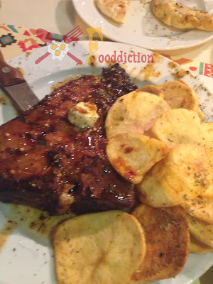 Kozi's Niama Grilled T-Bone steak
