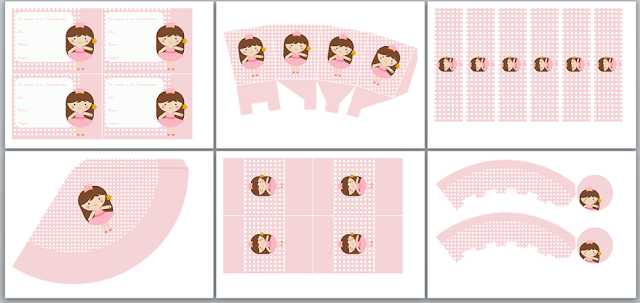Ballerina Princess Free Printable Mini Kit.