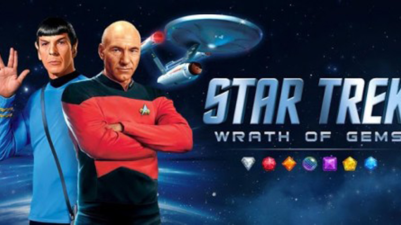 Star Trek - Wrath of Gems Gameplay IOS / Android