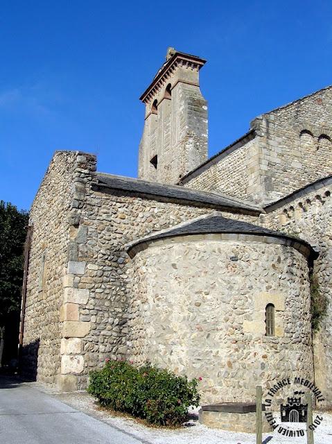 SAINT-ANDRE-DE-SOREDE (66) - Ancienne abbaye bénédictine
