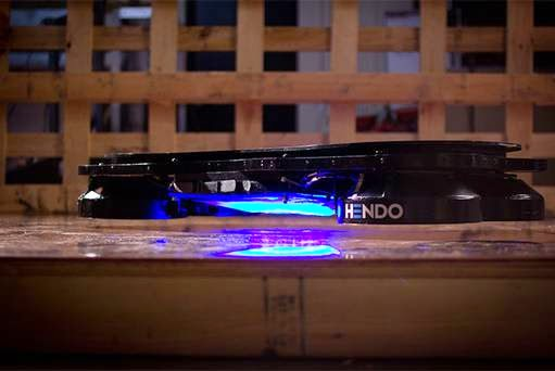 Back to the Future: Scientists create a real hoverboard